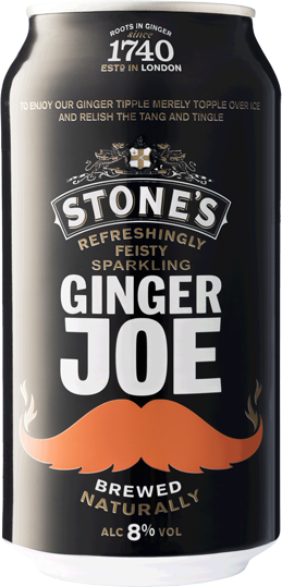 Stones Ginger Joe Can Drink